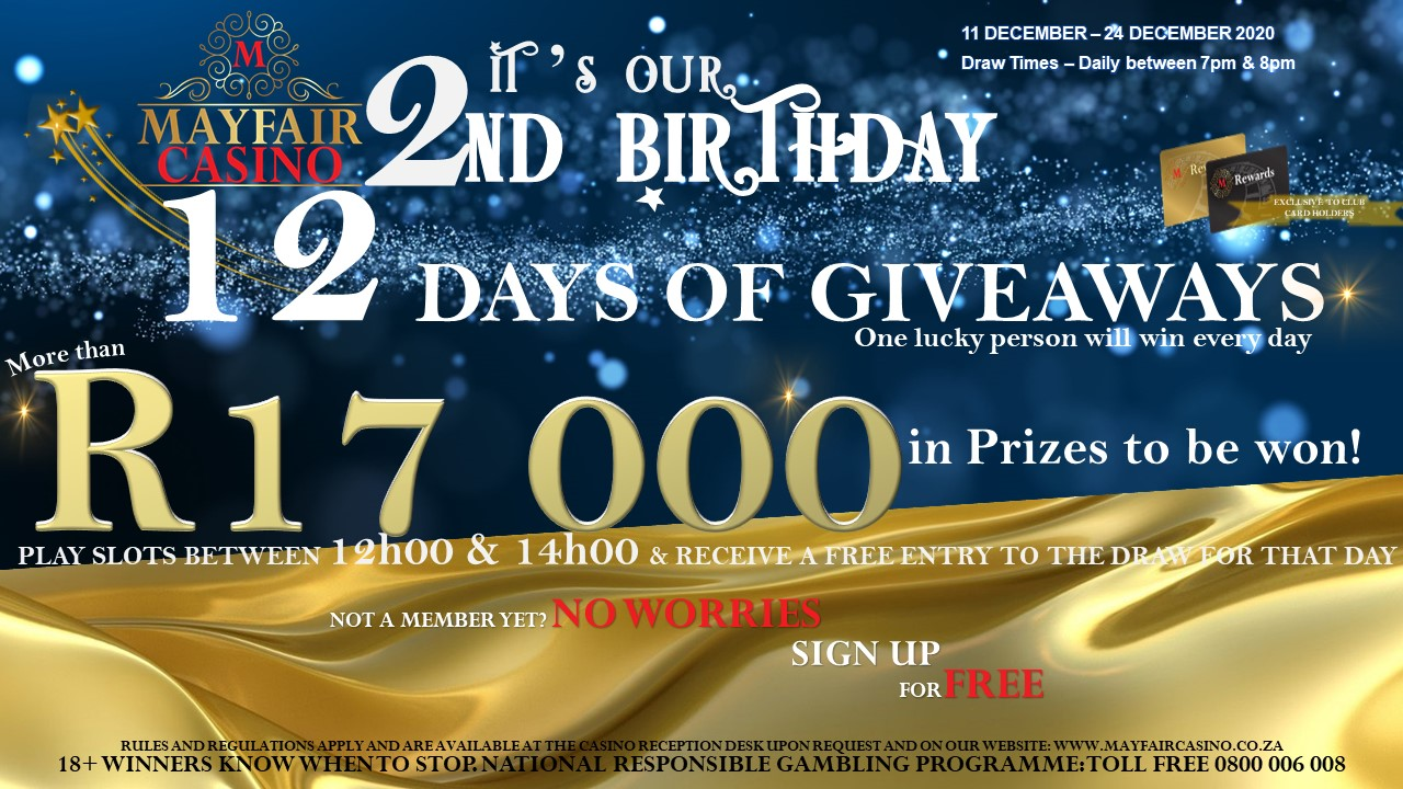 2nd Birthday Giveaway