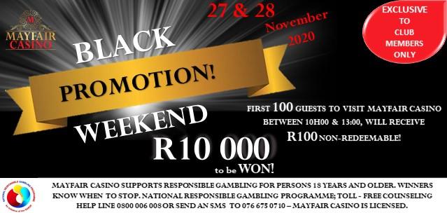 Black Weekend Promo