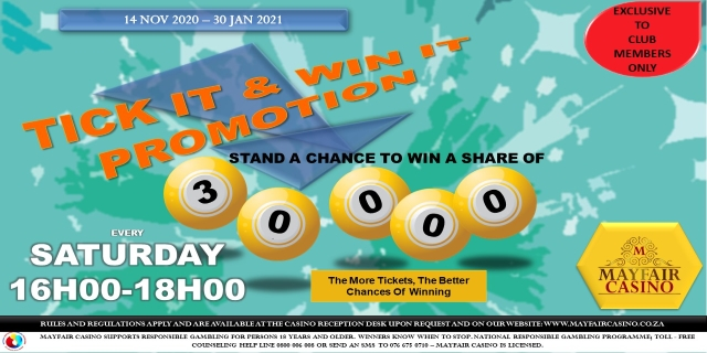 Tick it and Win it