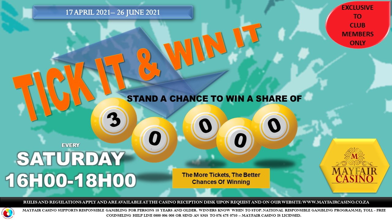 Landscape Tick it & Win it 17 Apr to 26 June '21