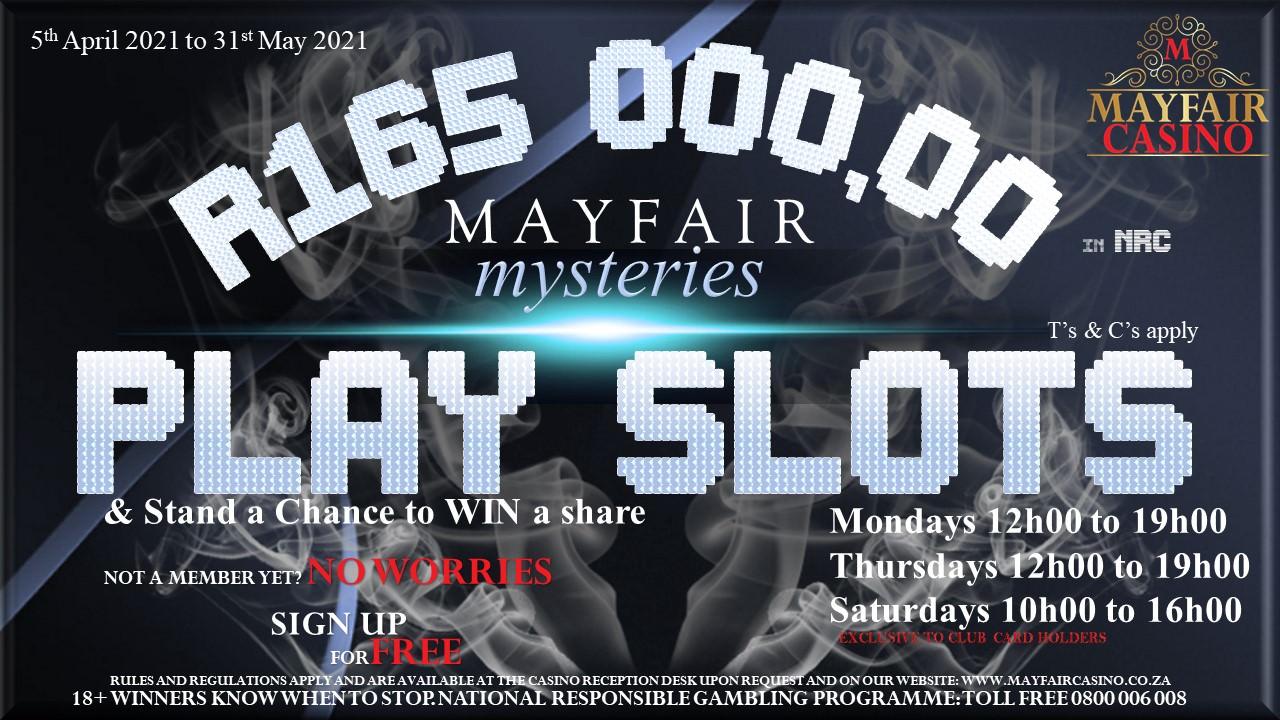 Mayfair Mysteries | Mayfair Casino