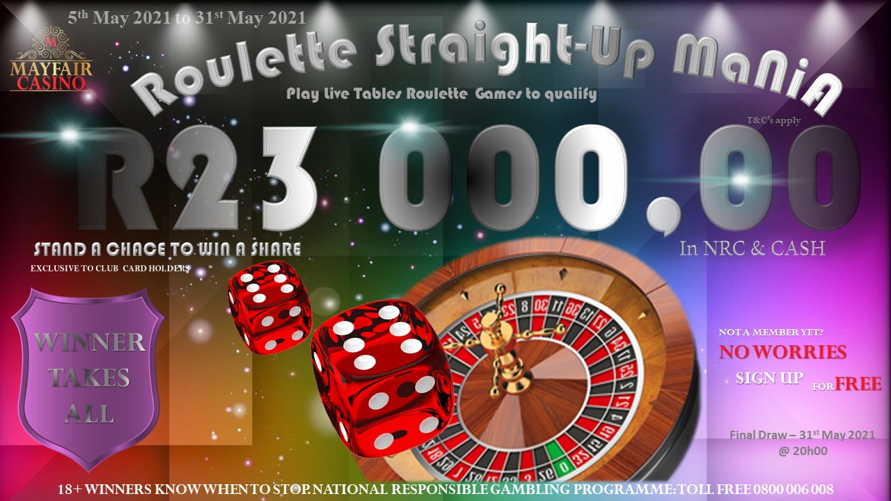 Roulette Straight-Up Mania