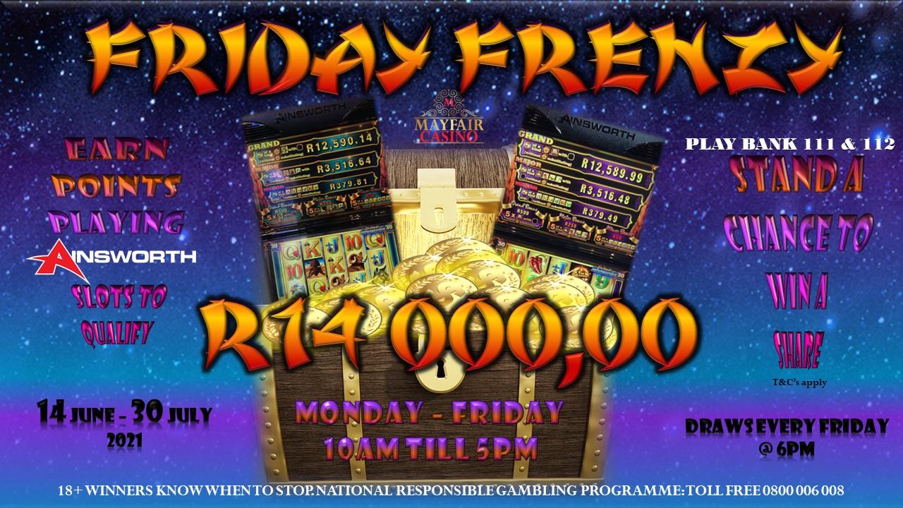 Ainsworth Fridays Frenzy