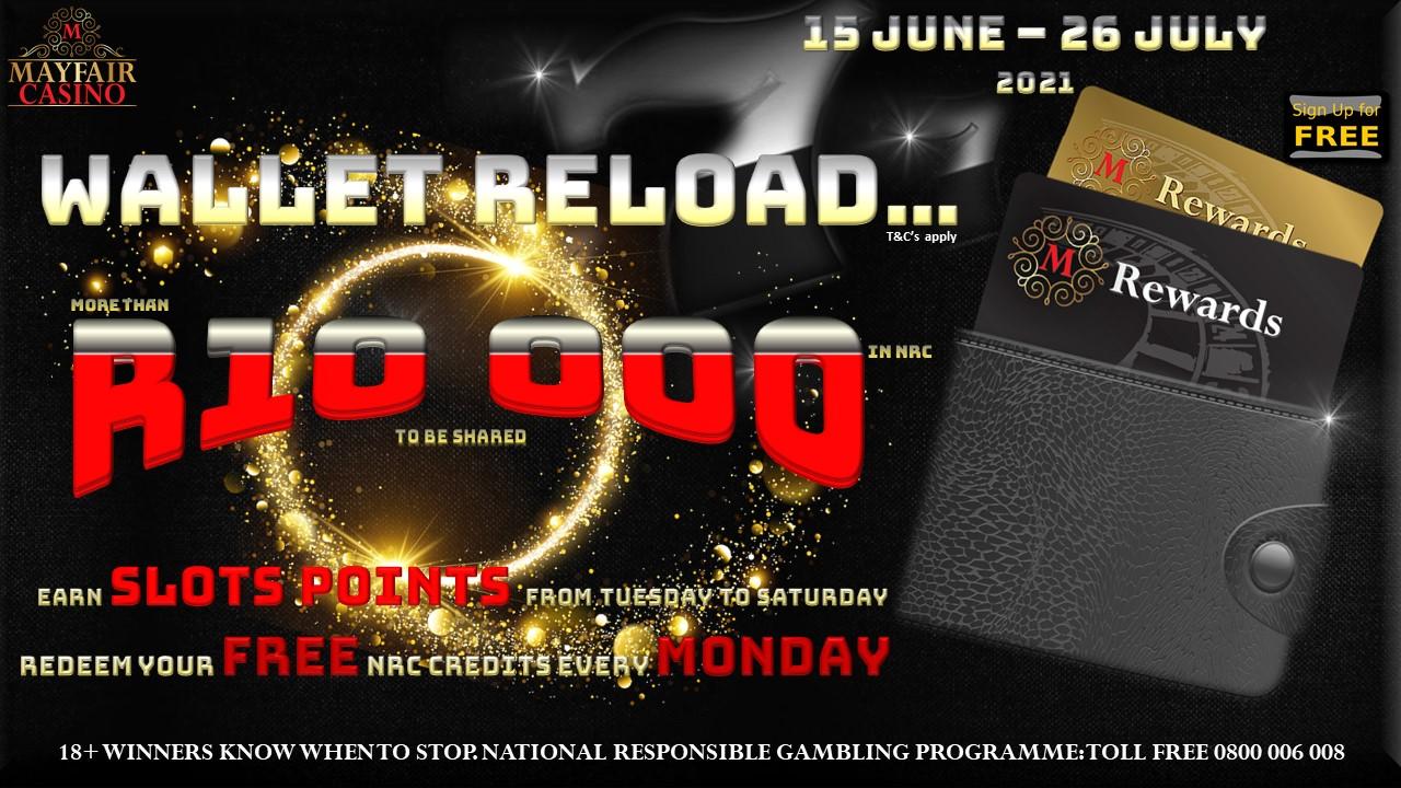 Wallet Reload Promotion